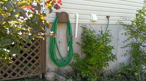 Mounted Garden Hose Hanger